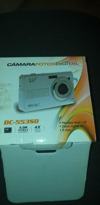 cámara digital.