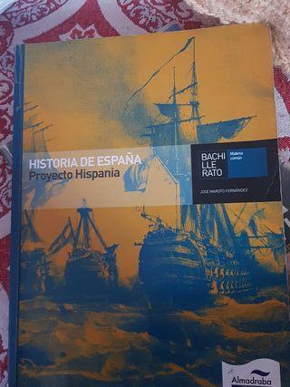 Libro de Historia de España 2° Bach