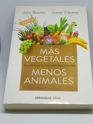 LIBRO MAS VEGETALES Y MENOS ANIMALES
