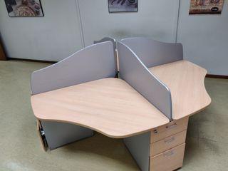 Muebles de oficina *Multipuesto de 4* Actiu