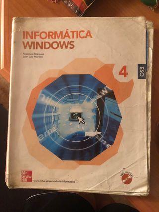 Libro informática cuarto de la eso