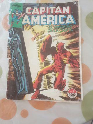 cómic original del Capitán América