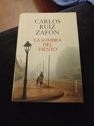 """Libro """" la sombra del viento"""""""