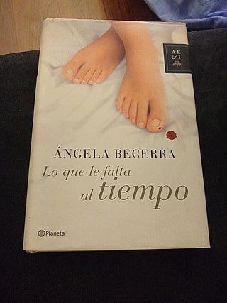 """libro """"Lo que le falta al tiempo"""""""