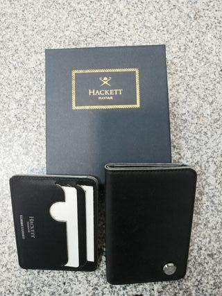 cartera y tarjetero Hackett
