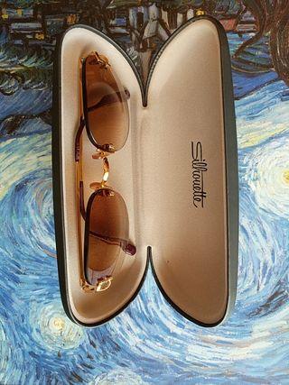 Gafas de sol Carrier montura de oro