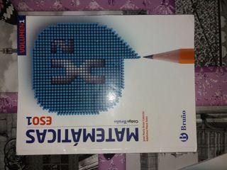 Libro Matemáticas Bruño 1 ESO