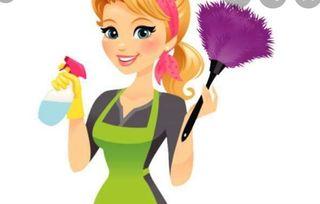 Limpieza general del hogar particular.