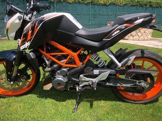 KTM DUKE390 2014