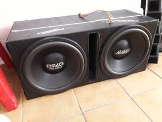 equipo car audio botellon