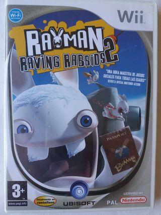 Rayman Raving Rabbids 2 juego para Wii