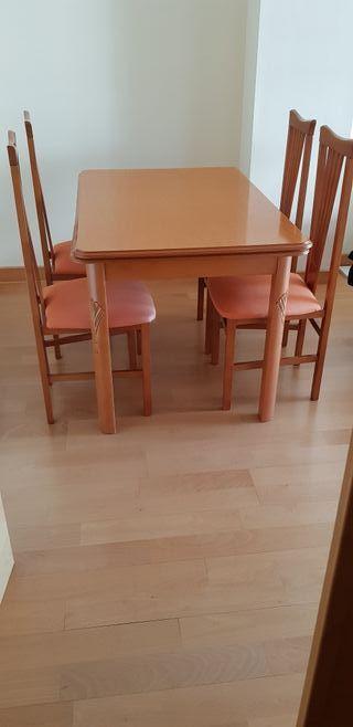 Mesa comedor con sillas de segunda mano en Azuqueca de ...