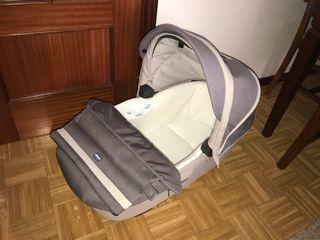 Carrito bebé marca chicco 3 piezas con isofix