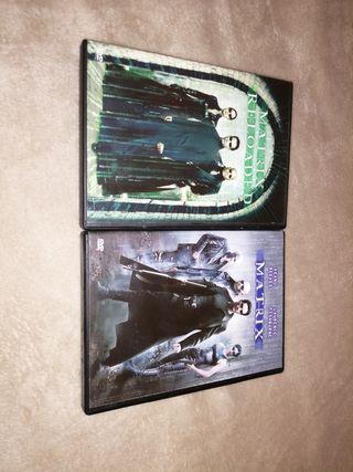 vendo 2 películas de matrix