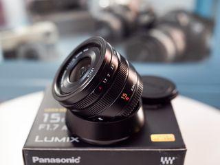 Objetivo Panasonic Leica 15mm f1.7