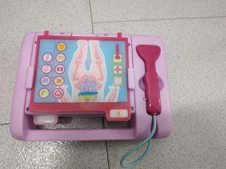 maletin rayo x medico juguete