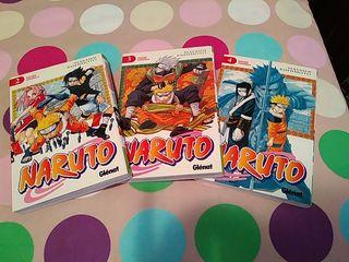 Cómics Manga Naruto (2-4)