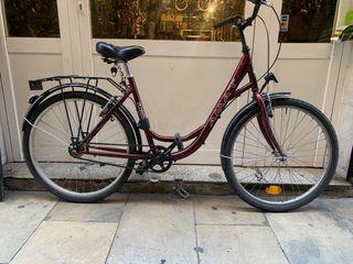 Bicicleta clásica paseo urbana ciudad