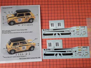 CALCA MINI COOPER STUDIO27 MAQUETA ESCALA 1/24