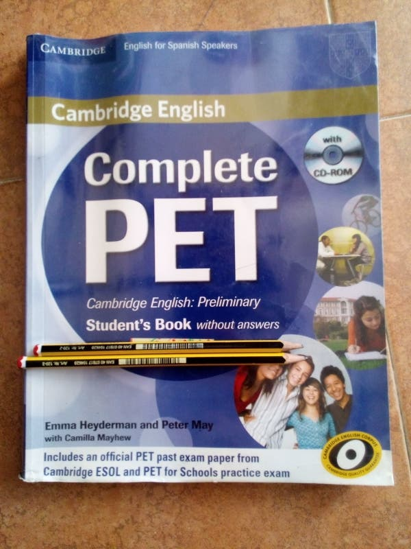 Libro Inglés PET