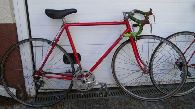 Bicicletas clasicas carretera vintage