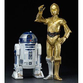 SET FIGURAS C-3PO & R2-D2 FIRS ORDEN STAR WARS
