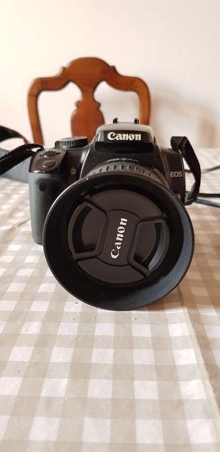 Cámara Reflex Canon 400D + Objetivo Canon 18-55