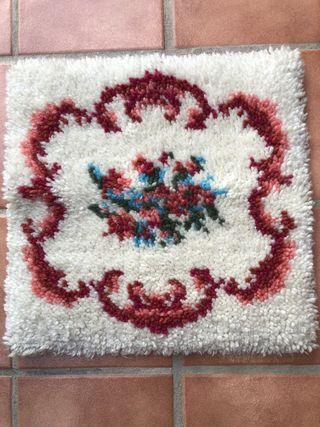 Mini alfombra lana a mano