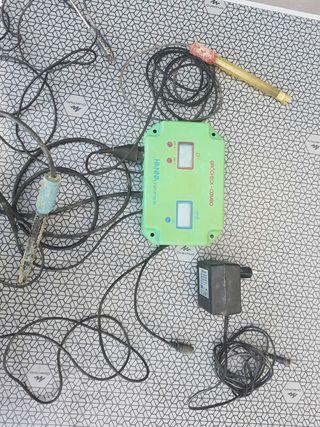 medidor/controlador de ph y conductividad