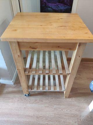 Mesa auxiliar cocina carrito