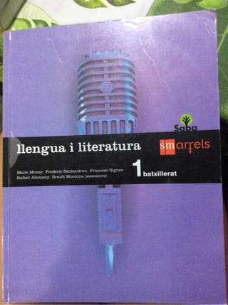 Libro escolar 1 bachiller llengua i literatura