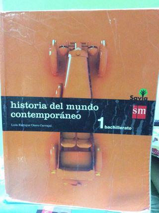Libro escolar 1 bachiller historia