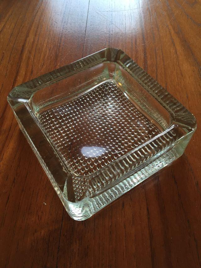 Cenicero cristal vintage