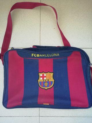 mochila del barsa