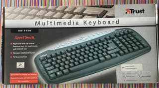 Teclado multimedia Trust