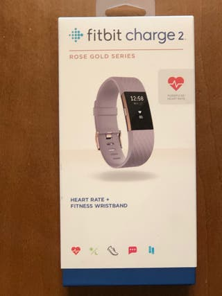 Fitbit charge 2 Rose Gold Series