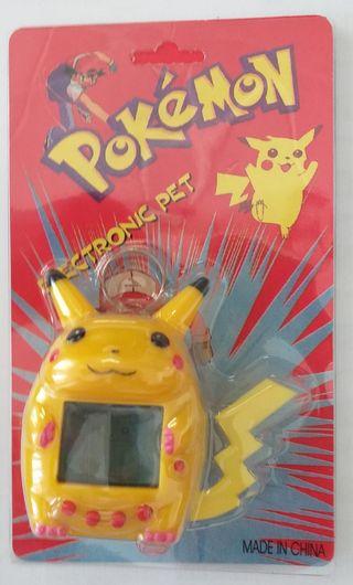 Juego de mano LCD tamagotchi Pokémon