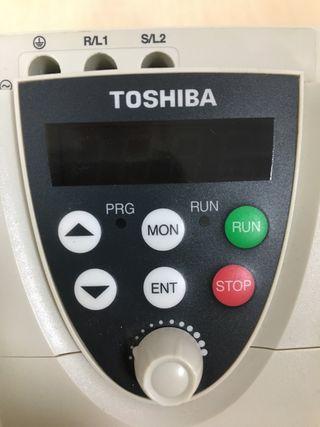 Variador de velocidad Toshiba 2cv
