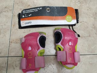 protecciones patines niña de 3-5 años
