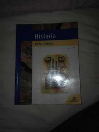 libro Historia de la filosofía 2° Bachillerato