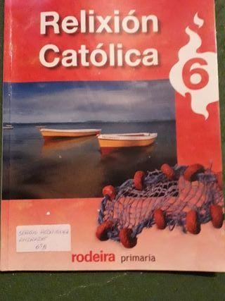 libro Religion 6° primaria