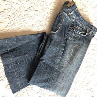Jeans bootcut Bershka