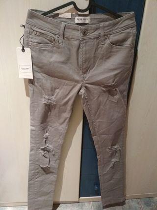 pantalón Jack & Jones gris