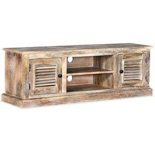 vidaXL Mueble para la TV de madera maciza 245253