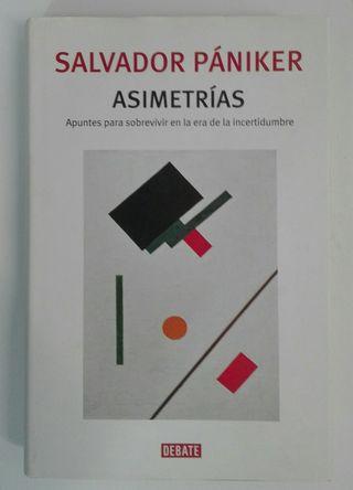 Libro Asimetrías ( Salvador Pániker ).