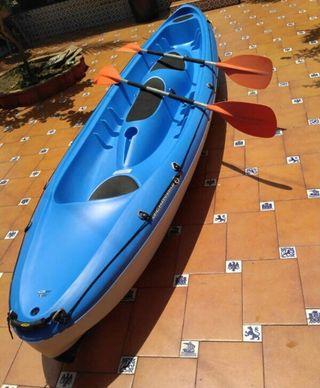 Kayak BIC 3 plazas completo NUEVO