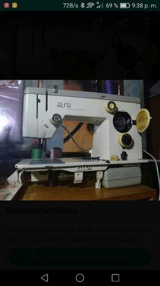 Máquina coser y bordar ALFA Superautomatica