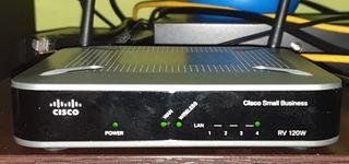 Cisco RV120W Router + Wifi + Firewall + VPN
