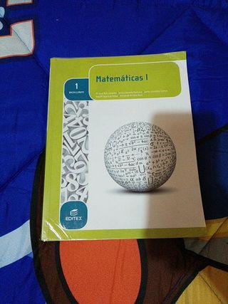 Libros de Matemáticas editex 1bachillerato