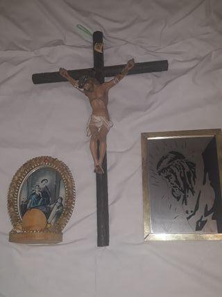 lote por5€ 5 antigüedades religiosas